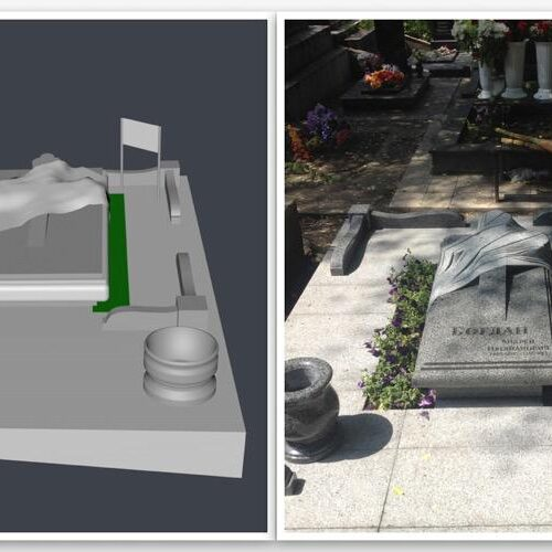 3D- визуализация памятника, 3д визуализация памятника, 3д макет памятника, макет памятника, памятник, гранитный памятник, памятник гранитный визуализация, памятник гранитный макет, макет гранитного памятника