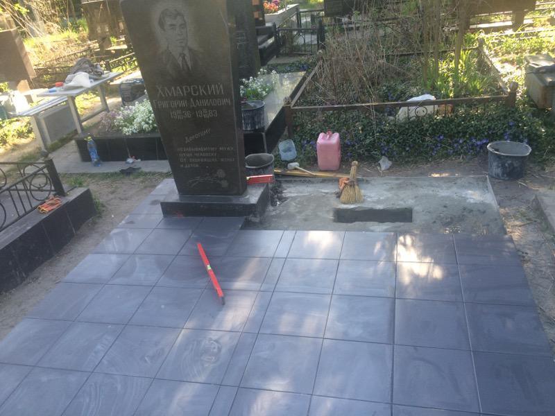 Реставрация мемориального комплекса